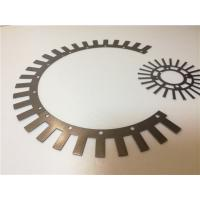 Buy cheap Customized Electrical Lamination Stamping, Transformer Electric Motor Stator Sheets from wholesalers