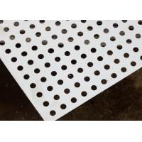 Buy cheap Round Decorative Metal Sheets , Decorative Perforated Aluminum Sheet High Precision Pattern from wholesalers