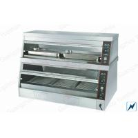 Buy cheap Commercial Food Warmer For Hot Display Showcase , Free Standing from wholesalers