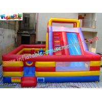 Buy cheap ODM Jumping slide, Outdoor Commercial Inflatable Slide 7.5L x 7W x 5.2H Meter product
