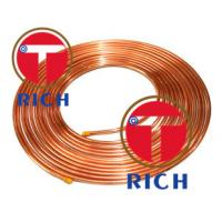 Buy cheap C11000 Capillary Copper Pipe Coil Non - Alloy For Air Condition / Refrigerator from wholesalers