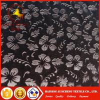 China Best seller 4 way stretch korea velour 3D embossed fabric for USA on sale