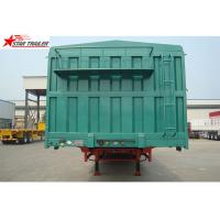 Buy cheap Steel 60T Side Wall Trailer , High Intension Trailer With Folding Sides from wholesalers