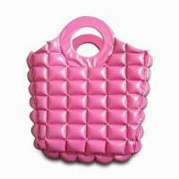 Wholesale Inflatable/PVC Handbag, Made of 0.18mm PVC Material, Sized 30.5cm and 0.18 to 0.25mm Thickness from china suppliers