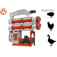 Buy cheap 380V 3 Phase 90Kw Feed Pellet Machine 3 - 8T/H 1.5 - 12mm Pellet Size from wholesalers