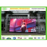 China SMD P10 Full color outdoor Rental Hanging LED Displays , module size 320mm*160mm on sale