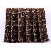 Wholesale Warp Knitted Flannel Print Blanket , Animal Design Baby Flannel Blanket Anti - Allergic from china suppliers