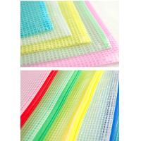 Wholesale Large Capacity Pvc Zipper Pouch , Resuable Slider Zipper Bags 10 Colors from china suppliers