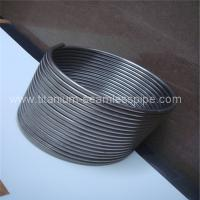 Buy cheap Stainless steel coil for Boiler heat exchange/ titanium coil for Boiler heat exchange from wholesalers