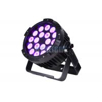 Buy cheap Black Housing Outdoor 18x10w Led Par Stage Lamp For Musical Concerts from wholesalers