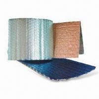 China Bubble Foil Insulation, Used for Wall, Roof and Attic, with Fireproof Feature on sale