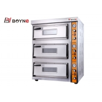 Buy cheap Big Capacity Pizza Oven Three Layer Electric 380v Stainless Steel from wholesalers