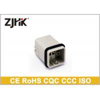 Buy cheap 12 Pin Multipole Connectors    Waterproof DIN Connector With Copper Alloy Crimp Contacts from wholesalers