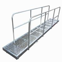 Buy cheap Aluminum Alloy Steel Marine Boarding Ladder Strong Bearing Safety Emergency Boarding Ladder For Boats from wholesalers