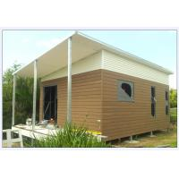 Buy cheap Australia Style Prefab House Kits , Modern Prefab House With WPC As Exterior Wall Cladding from wholesalers