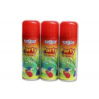 Wholesale High Glossy Birthday Spray String ,silly string  Anti - Flammable Party Streamer Spray from china suppliers