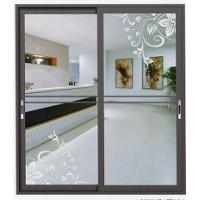 High quality aluminum sliding door wih 4 colors optional Manufactures