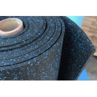 Buy cheap gym floor, strength area mat, composit rubber mat,blue speckle rubber floor for gymnasium from wholesalers
