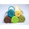 100% Polyester luxury polar fleece blankets 130 * 160cm , large fleece blankets throws Manufactures