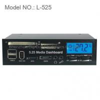 Buy cheap 5.25 LCD Media Dashboard Internal Card Reader Front Panel from wholesalers