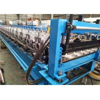 Buy cheap High Speed Stand Pillar Roof Panel Roll Forming Machine , Roll Forming Equipment from wholesalers