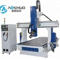 Buy cheap 4 Axis Woodworking CNC Router Machine 1325 , Industrial Routers Woodworking 18KW from wholesalers