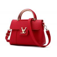 Buy cheap Elegant Private Lable Soft Leather Handbags , Single Shoulder Bag For Ladies 103W from wholesalers