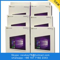 China 100% Online Activate Windows 10 Pro Product Key DVD Package Software Operating on sale