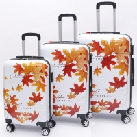 Wholesale Long Distance Travel Floral ODM 0.8mm Print Luggage Suitcase from china suppliers