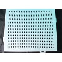 Buy cheap Ceiling Aluminum Perforated Metal , Stamping Punched Aluminum Sheet Panelling Decoration from wholesalers