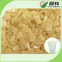 China Medical Plastic Stick Cotton Hot Melt Adhesive Synthetic Polymer Resin Glue on sale