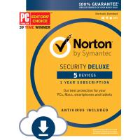 Buy cheap Norton Security Deluxe - 5 Device Computer Virus Protection Software Download Code from wholesalers