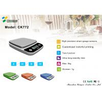 CK772B Lightweight Digital Kitchen/Food Scale w/Plastic-Covered Buttons - Ounce, Millilite Manufactures