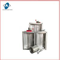 Buy cheap Square Fire Resisting Damper Electric Air Duct Motor Damper from wholesalers