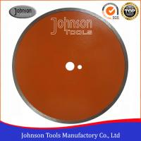 Quality 350mm Ceramic Tile Saw Blades Diamond Sintered Continuous Saw Blade For for sale