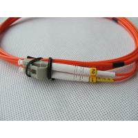 Buy cheap Multimode LC Simplex Duplex Optical Fiber Patch Cords 50/125 62.5/125 LC-LC from wholesalers