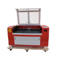 Buy cheap Low Cost  Co2 Laser Engraving Cutting Machine for Stainless Steel /Acrylic/ Leather/ Wood with Double Heads from wholesalers