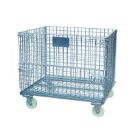 Wholesale large foldable,stackable wire containers for warehouse from china suppliers