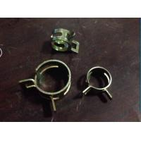 Buy cheap Spring Clamp Structure and 200/300/400 stainless steel,Metal Material american hose clamp 8mm width from wholesalers
