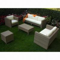 Buy cheap Outdoor garden furniture sofa set, 1.2mm thickness aluminum tube from wholesalers