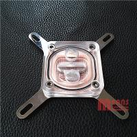 Buy cheap CPU Water block,Radiator,MS-024-AC,Acrylic/Stainless steel/Red copper.Rohs from wholesalers