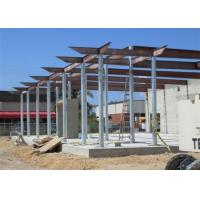 Buy cheap Prefab Fireproof Car Showroom Building Light Steel Frame For Temporary House from wholesalers