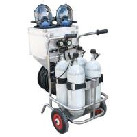 Buy cheap CE Movable Long Tube Scba Breathing Apparatus Trolley Mounted from wholesalers