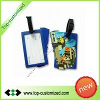 Buy cheap Soft PVC luggage tag wholesale from wholesalers