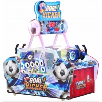 Buy cheap Riding Game GOAL KICKER Football Redemption Arcade Machines from wholesalers