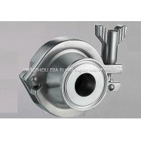 1 - 4 Inch Welded Quick Installed Sanitary Check Valve With 13MHH Clamp Manufactures