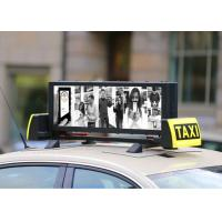 Buy cheap High Resolution Outdoor Fixed LED Display Light Weight Waterproof Taxi Roof from wholesalers