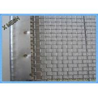 Buy cheap Stone Vibrating Screen Wrapping Heavy Duty Metal Screen Mesh 45 Degree Hook from wholesalers