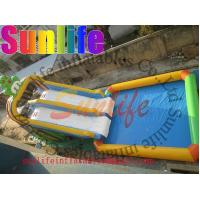 Buy cheap Promotion Colourful Commercial Outdoor Inflatable Water Slide For Pools UL / CE from wholesalers