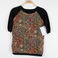 Buy cheap Patch Pullover Sweaters Anti-pilling Printed Fabric Linen Sleeve from wholesalers